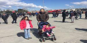 """Vatandaşlar """"Cumhur İttifakı Büyük İstanbul Mitingi"""" İçin Alana Gelmeye Başladı"""