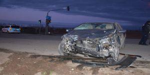 Elbistan'da Trafik Kazası: 1 Yaralı