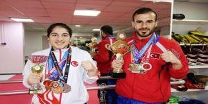 Kick Boksta Diyarbakır'ın Gururu Oldular