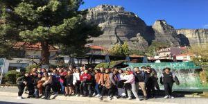 Proje İçin Yunanistan'a Gittiler
