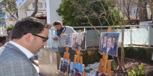 Muhsin Yazıcıoğlu Anısına Resim Sergisi Açıldı