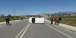 Şelale Yolunda 50 Metre Arayla İki Trafik Kazası: 2 Yaralı