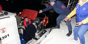 Göçmenleri taşıyan tekne battı: 4 ölü