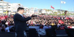 Mehmet Kocadon, Seçim Çalışmalarını Marmaris'te Sürdürdü