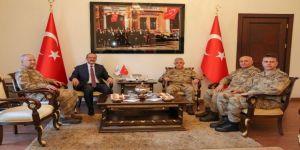 Torul Belediye Başkan Orgeneral Çetin, Ordu'da Birlikleri Denetledi
