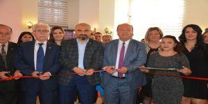 Ebru Sanatı Kursiyerleri Hünerlerini Sergiledi