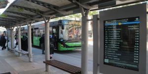 Akıllı Duraklarla Otobüsler Takip Edilecek