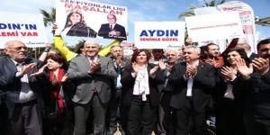 Başkan Çerçioğlu, Efeler'de Vatandaşlarla Bir Araya Geldi
