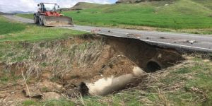 Aşırı Yağışlar Menfezlerde Tahribata Neden Oldu
