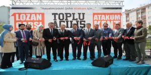 Atakum'da Çarşı Cadde Ve Meydan Açılışı