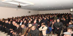 Kaymakam Türkmen, Emekli Güvenlik Koruyucularıyla Bir Araya Geldi