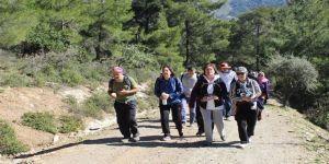 Ödemişli Dağcılardan Baraj Yürüyüşü
