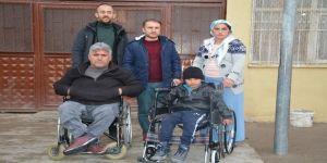 Engelli Derneğinden Tekerlekli Sandalye Yardımı