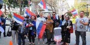 Türkiye'de en az 100 bin Rus var'