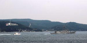 Nato'ya Bağlı Savaş Gemileri Çanakkale Boğazı'ndan Geçti