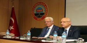 Başkan Yaşar'dan Türkiye Emekliler Derneğine Ziyaret