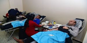 Ankara Büyükşehir Personelinden Gönüllü Kan Bağışı