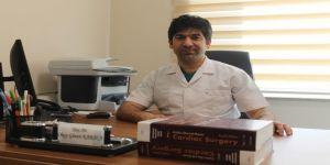 Düzce Üniversitesinde Kalbi Durdurmadan Ameliyat