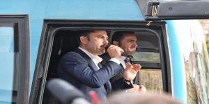 Bakan Kurum'dan Başkan Adayı Yıldız'ın Kentsel Dönüşüm Projesine Destek