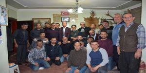 Başkan Bozkurt, Şuhut Avcılar Kulübü Üyelerini Ziyaret Etti