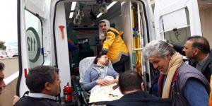 Kazada Yaralanan Hdp'li Vekil Şanlıurfa'ya Sevk Edildi