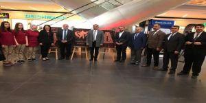 Biga'da 'Bir Destandır Çanakkale' Konulu Resim Sergisi Açıldı
