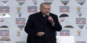 """Cumhurbaşkanı Erdoğan: """"Ayasofya'yı Seçimden Sonra Tekrar İsim Olarak Müzeden Camiye Çevireceğiz"""""""