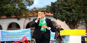Mehmet Tosun, Bodrum Mitinginde Coşkuyla Karşılandı