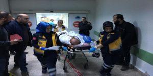 Kamyon Şoförü Başından Vuruldu