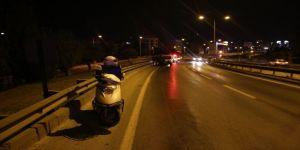 İzmir'de Motosiklet Sürücüsü Ağır Yaralandı