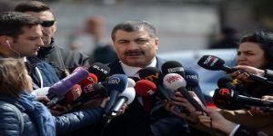 """Bakan Fahrettin Koca: """"7 Bin Sağlık Personelimiz Şu An Aktif Görevinin Başında Hizmet Vermektedir"""""""