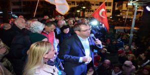 Ayvalık'ta Demokrat Parti Kazandı