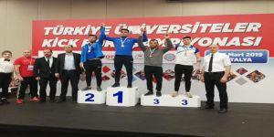 Üniversite Kick Boks Takımından Büyük Başarı