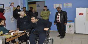 Kahraman Gazi Tekerlekli Sandalyeyle Oyunu Kullandı