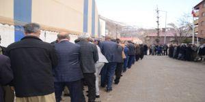 Beytüşşebap'ta Ak Partili Vatandaşlar Seçim Zaferini Kutladı