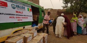 Mali'de saldırıya uğrayan Müslümanlara acil gıda yardımı