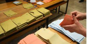 İstanbul'da 4 ilçede geçersiz oylar sayılıyor