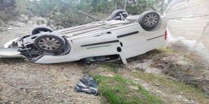 2 Gündür Kayıp Olan Şahıs, Dere Yatağına Yuvarlanan Aracında Ölü Bulundu