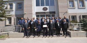 Sandıklı Belediye Başkanı Mustafa Çöl Mazbatasını Aldı