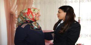 Afyonkarahisar Emniyeti, Şehit Ailesini Ziyaret Etti