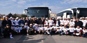 Öğrenciler İlk Defa İstanbul'a Gittiler