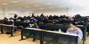 Kilis'te Avrupa'da Öğrenim Görmek İsteyen Öğrenciler İçin Yabancı Dil Sınavı