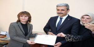 Yozgat Belediye Başkanı Celal Köse Mazbatasını Aldı