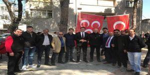 Alparslan Türkeş Edremit'te Anıldı