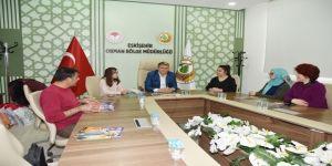 Çocuk Hakları İl Komitesi Yöneticileri Eskişehir Orman Bölge Müdürlüğü'nü Ziyaret Etti