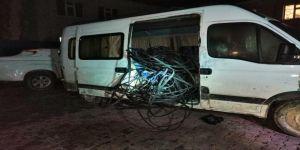 Kahramanmaraş'ta İletişim Kablolarını Çalan Çete Çökertildi