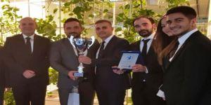Sanal Borsa Şampiyonlarından Rektör Aldemir'e Ziyaret