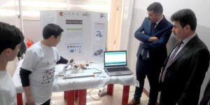 Rektör Karacoşkun Bilim Fuarına Katıldı