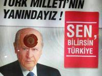 MHP'nin İlanlarına AK Parti Afişleriyle Sabotaj