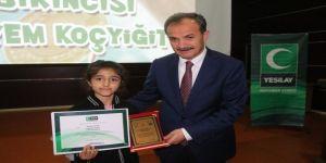 'Sağlıklı Nesil Sağlıklı Gelecek' Yarışmasının Ödülleri Verildi